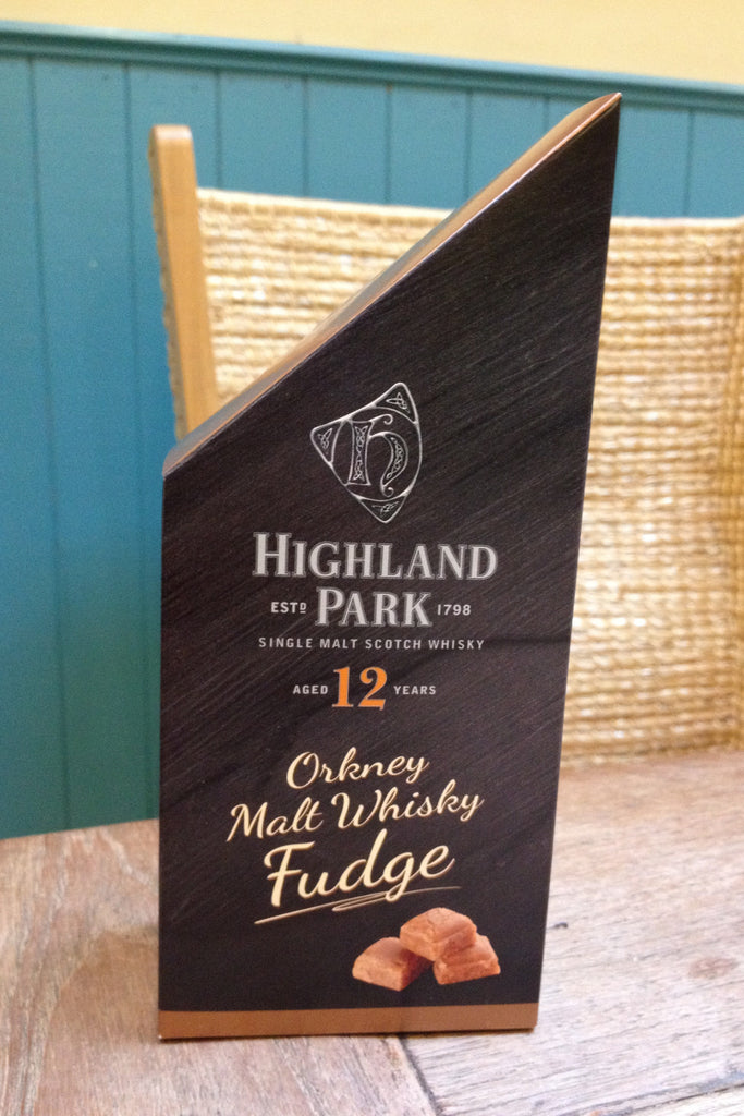 Orkney Highland Park Malt Whisky Fudge Pieces