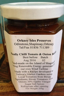 Orkney Isles Preserves Really Chilli Chutney £4.95