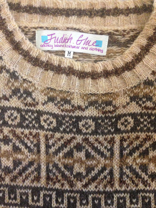 Traditional Fair Isle Crewneck Sweater in Shorelines £139.95