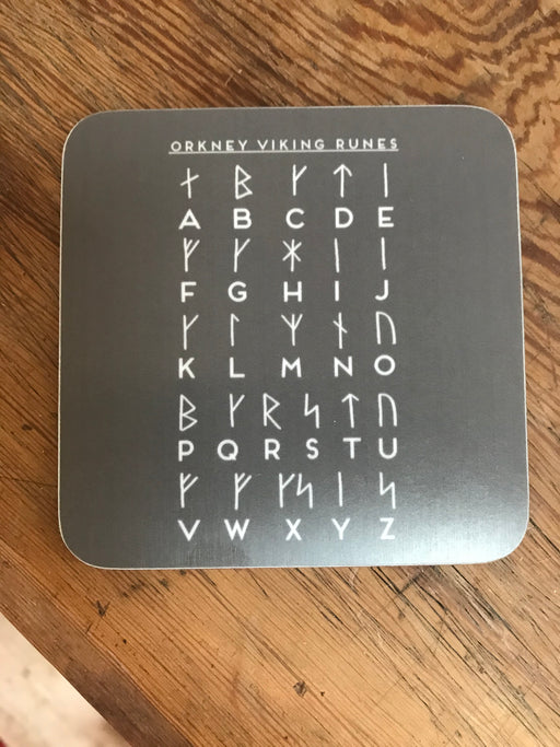 15% OFF Orkney Viking  Runes Alphabet Coaster was £3.95 now £3.35