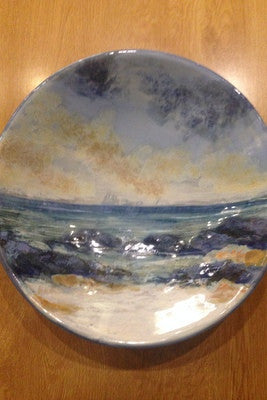 Highland Stoneware Orkney Seascape Large Bowl £149.00