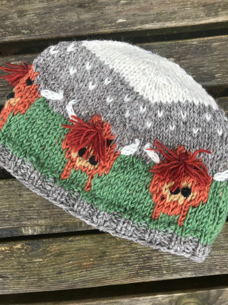 15% OFF Highland Cow Herd Beanie Hat was £19.95 now £16.95