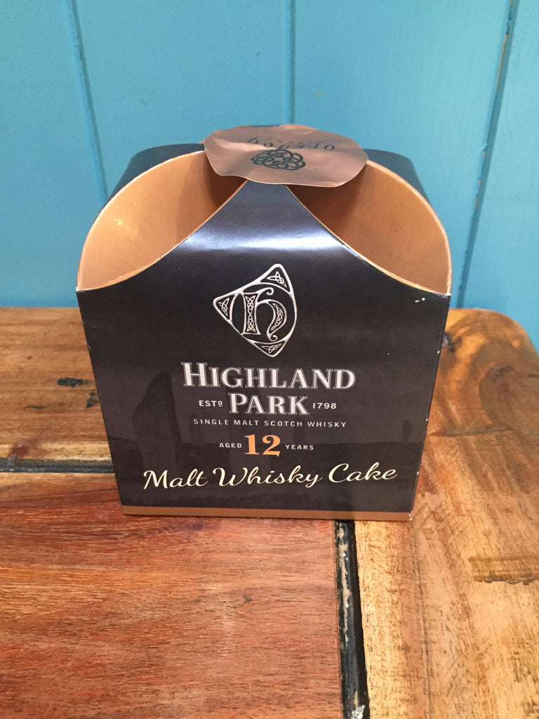Highland Park Malt Whisky Cake 275g