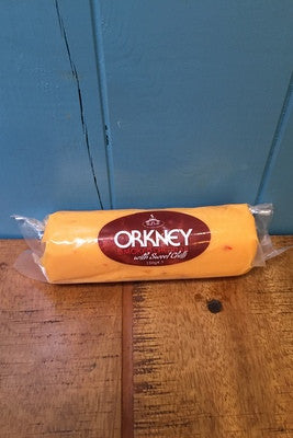 Island Smokery Orkney Sweet Chilli Cheddar £3.95