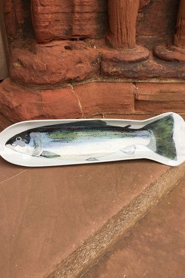 Highland Stoneware Large Fish Platter WAS £149.00 NOW £99.00