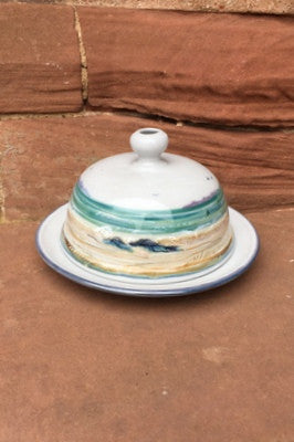 Highland Stoneware Seascape Butter Dish  £64.95