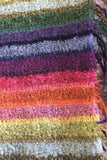 Judith Glue Rainbow Stripey Fringed Scarf £55.00