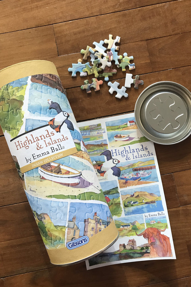Emma Ball Highlands and Islands 250 Piece Jigsaw £14.95