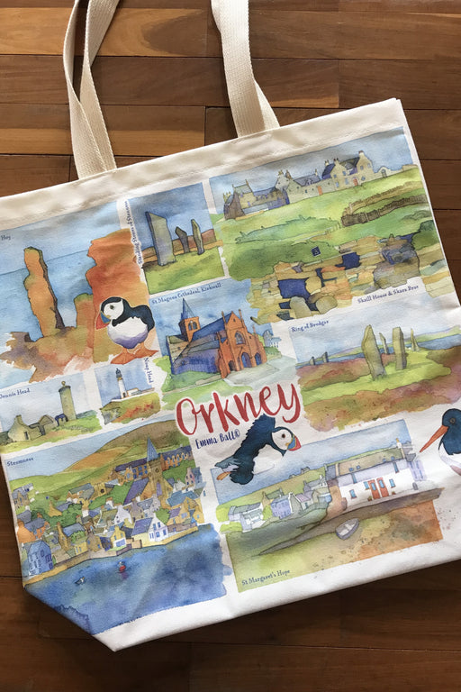15% OFF Emma Ball 'Orkney' Canvas Bag was £14.95 now £12.70