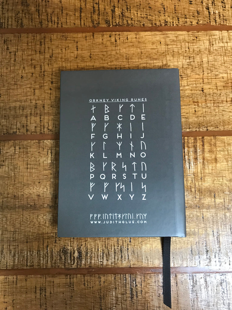 Orkney Viking Rude Runes Piss Off Hardback Notebook £14.95
