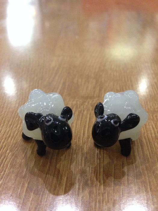 15% OFF Glass Mini Sheep was £5.95 now £5.05