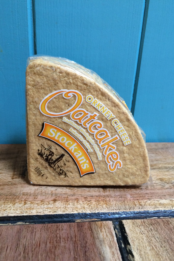 Stockans Cheese Orkney Oatcakes