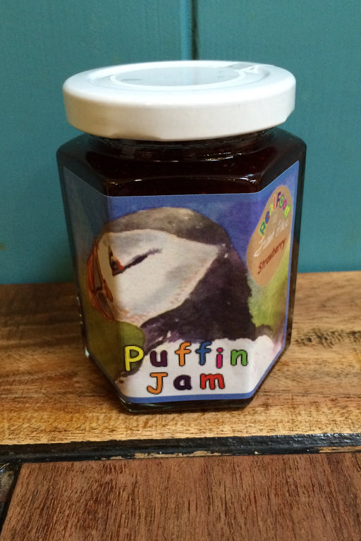 Orkney Island Preserves Puffin Strawberry Jam £4.95