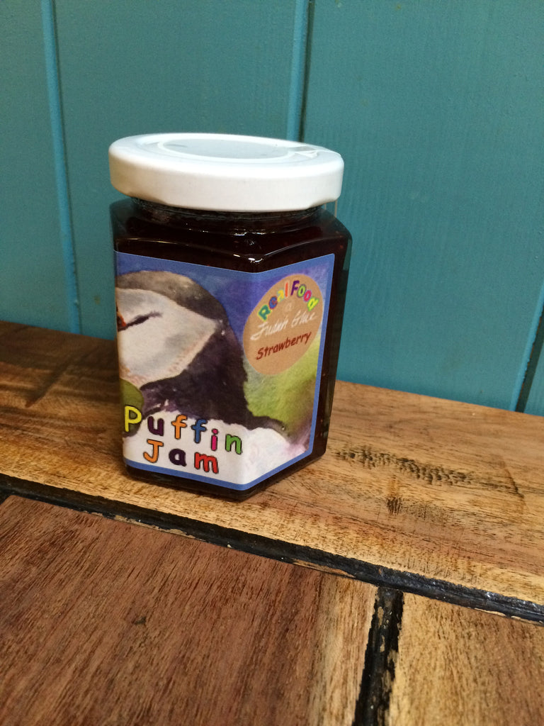 Orkney Island Preserves Puffin Strawberry Jam