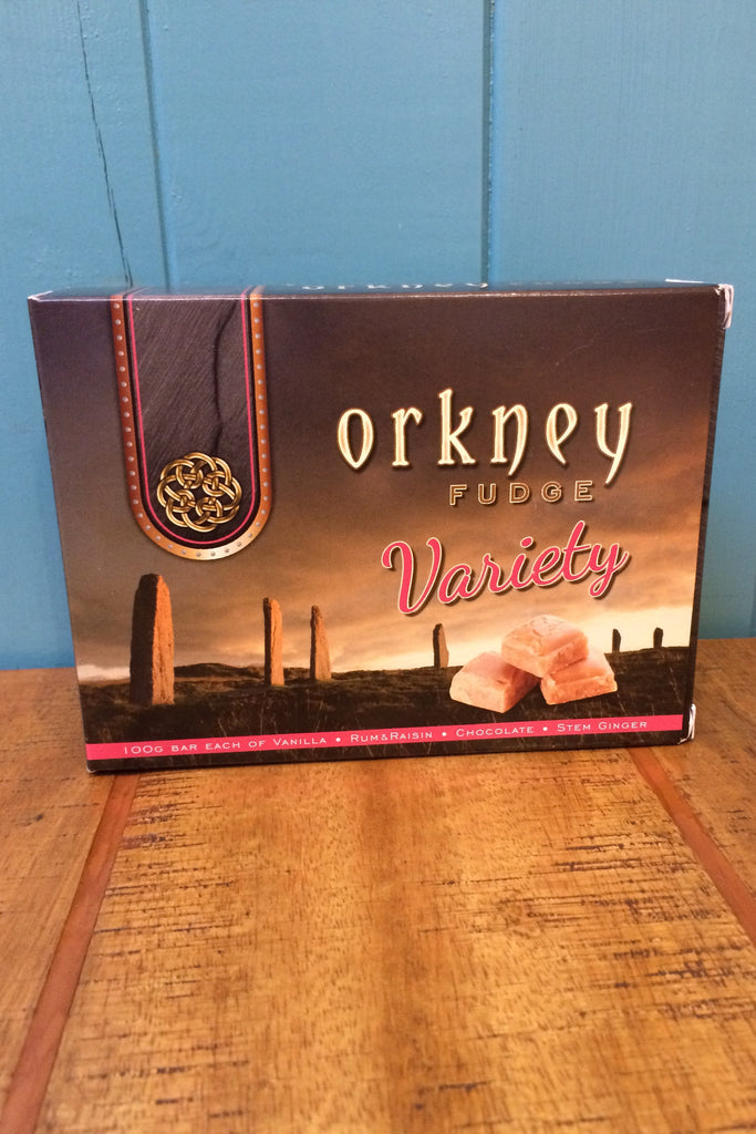 Orkney Fudge with a Variety of Flavours 400g