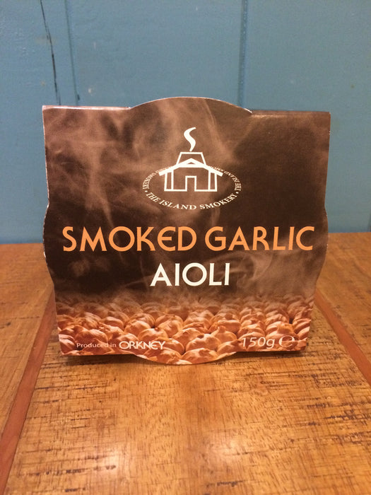 Island Smokery Orkney Smoked Garlic Aioli £3.95