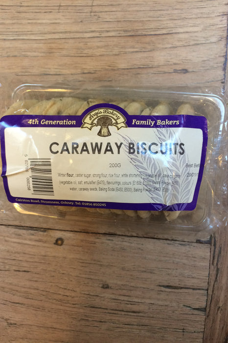 Orkney Bakery Caraway Biscuits