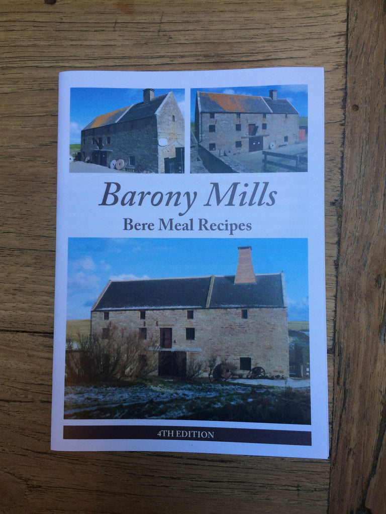 Beremeal Flour 1.5kg and Beremeal Recipe Book from Barony Mills