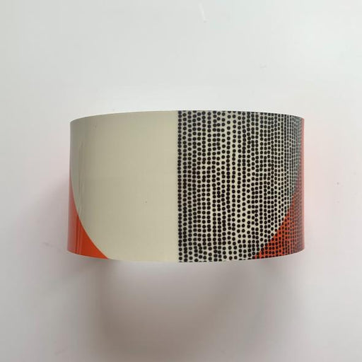 Jenni Douglas Jewellery Balance Wide Cuff Bracelet in Orange £27.95
