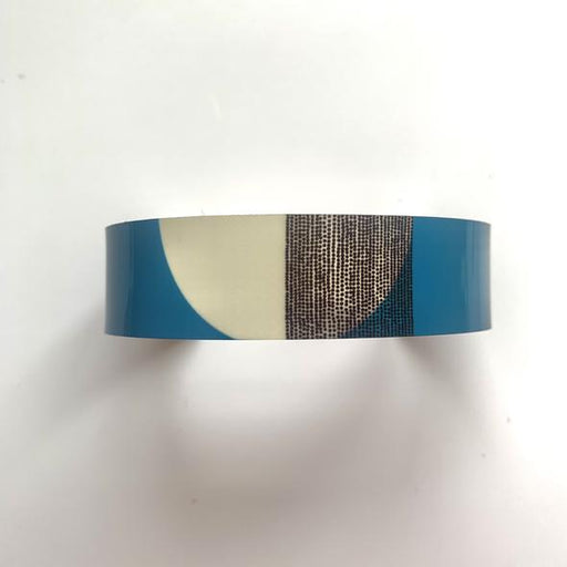 Jenni Douglas Jewellery Balance Narrow Cuff Bracelet in Teal £24.95
