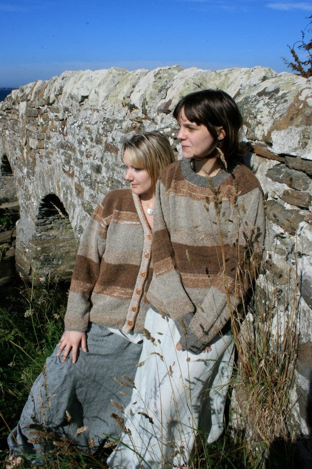 40% OFF 0Orkney View Crewneck Sweater in Shorelines WAS  £139.95 NOW £84.95