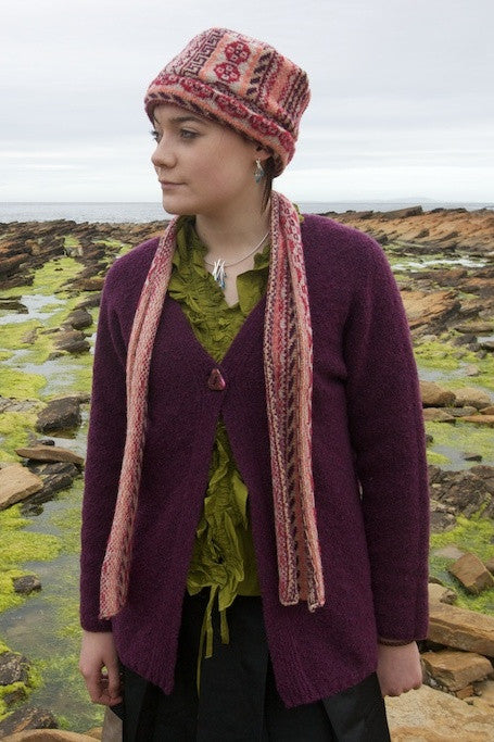 50% OFF Judith Glue Peerie Scarf in Sunset WAS £39.95 NOW £19.95