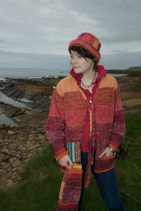 15% OFF Orkney Landscape Sloppy Joe Jacket in Red Sky at Night WAS £159.95 NOW £136.95