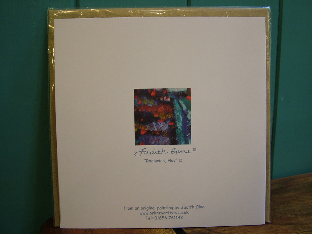 Judith Glue Blank Greeting Card: Rackwick, Hoy £2.99
