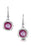 Sheila Fleet Lunar Bright Drop Earrings in Hot Pink ( EE249-BRIGHT )  £104.00