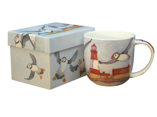 Emma Ball Puffin & Lighthouse Bone China Boxed Mug £13.95