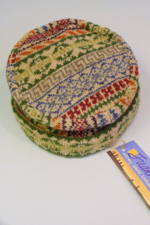 Rackwick Fair Isle Pill Box Hat £65.00