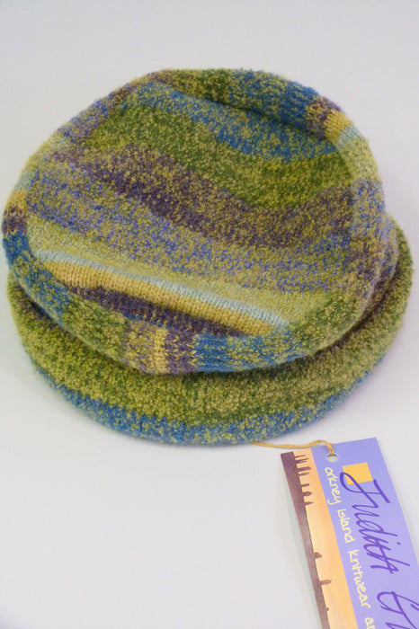 Orkney Landscape Pillbox Hat in Rolling Hills £59.95