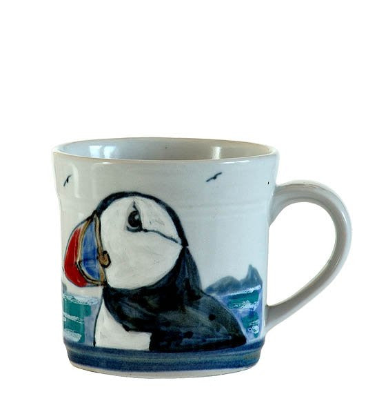 Highland Stoneware Puffin Mug - 1/2 Pint £35.95
