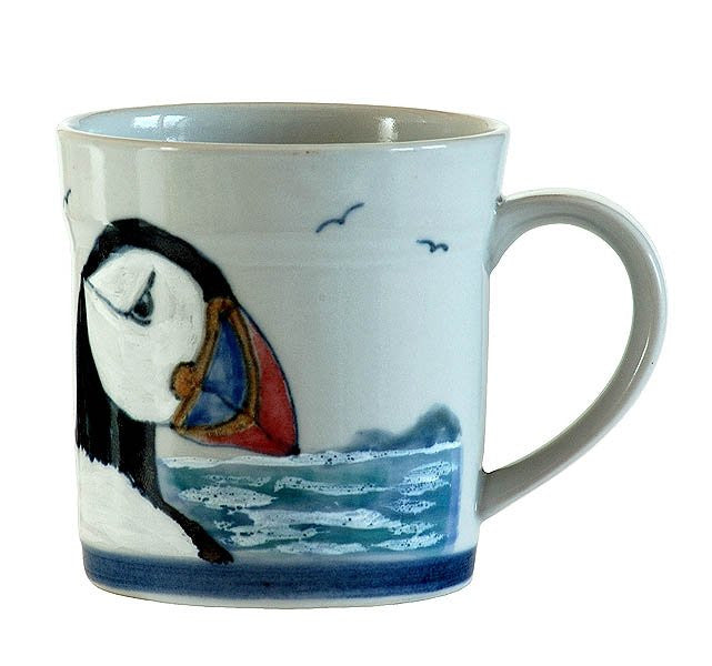 15% OFF Highland Stoneware Puffin Mug - 1 Pint was £41.95 now £35.65