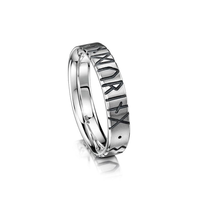 Sheila Fleet Runic Ring ( R34-SIL )  £100.00