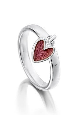 Sheila Fleet Secret Hearts Ring ( S-ER0138 ) £66.00