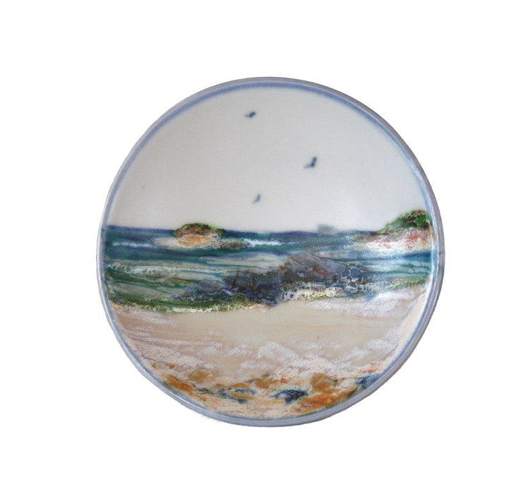 Highland Stoneware Seascape Small Geo Dish £21.95