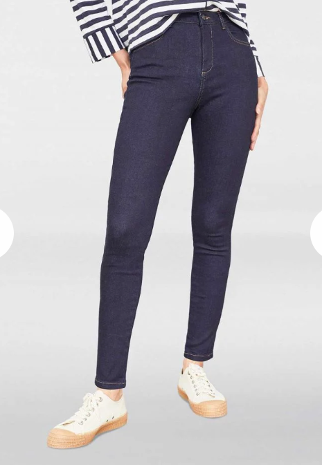 15% OFF NEW Thought Clothing Skinny Jeans in Dark Blue Wash WAS £84.95 NOW £72.20