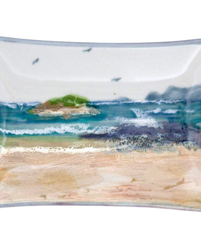 Highland Stoneware Seascape Extra Small Rectangle Dish £24.95