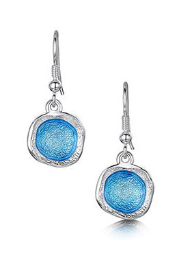 Sheila Fleet Lunar Bright Drop Earrings in Tropical £104.00