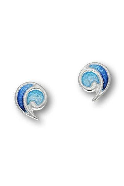 Ortak Alba Silver Earrings in Oasis ( EE429 ) £58.00