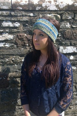 Annie Glue Blue Headband £29.95