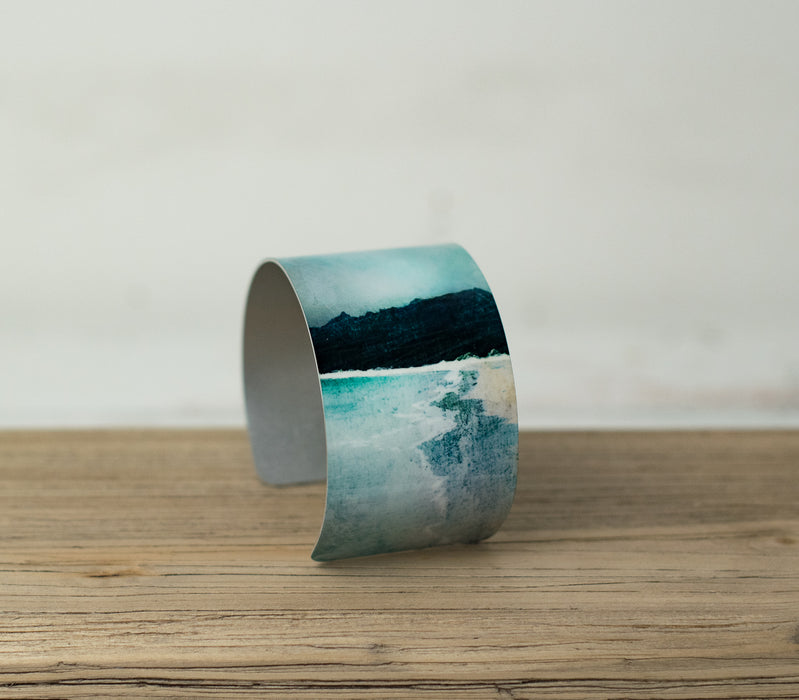 Cath Waters Reef Beach IsIe of Lewis Aluminium Bangle £26.95