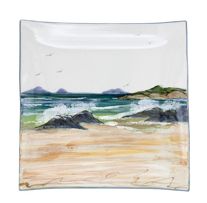 Highland Stoneware Seascape Extra Large Square Dish £88.95