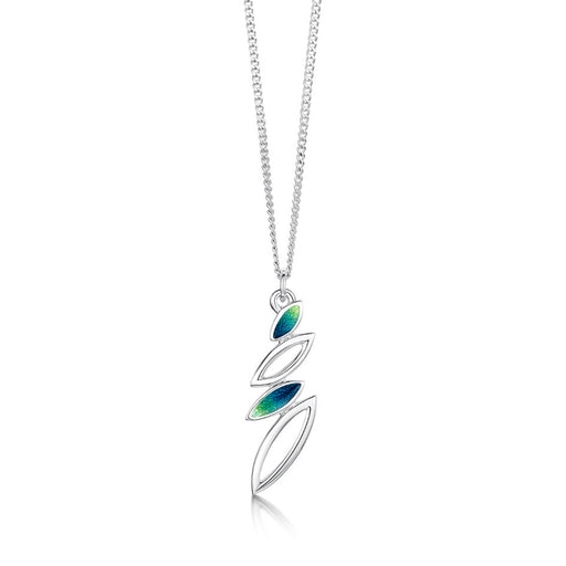 Sheila Fleet Summer Seasons Spring Silver Necklace ( EP0262) £85.00
