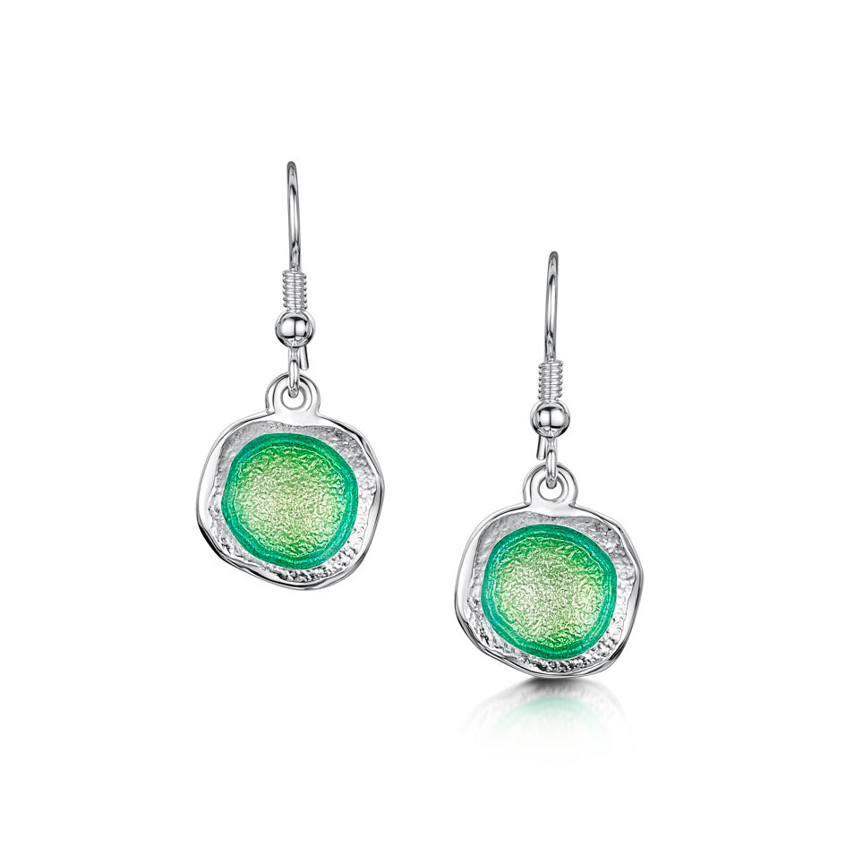 Sheila Fleet Lunar Bright Drop Earrings in Spring Green ( EE249-BRIGHT )  £104.00