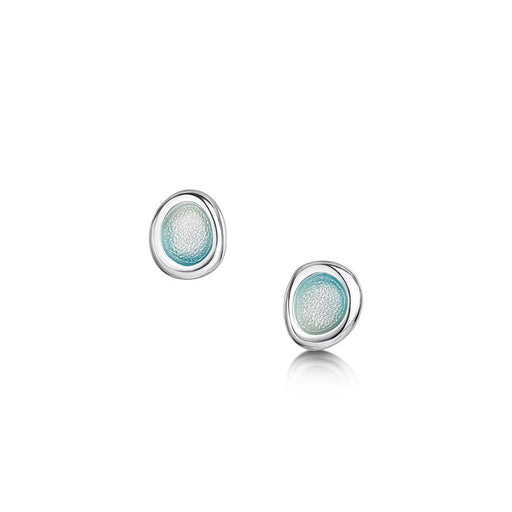 Sheila Fleet Arctic Stream Petite Stud Earrings ( EE0267-ARCBL ) £68.00