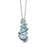 Sheila Fleet Shoreline Pebble Pendant Stack in Blue Grey ( EPXX168 )  £184.00