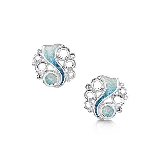Sheila Fleet Arctic Stream Stud Earrings ( EEX267-ARCBL ) £118.00
