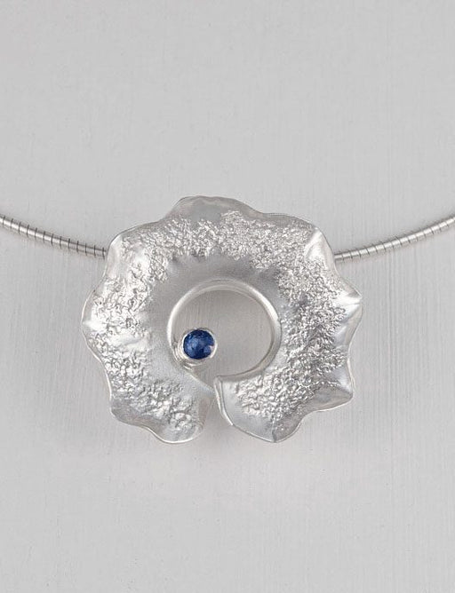 20% OFF Zoe Davidson Blue Topaz Sculptural Seas Necklet WAS £248.00 NOW £199.00 NOW